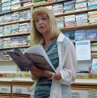 Reading from PASSAGES, at The Book man, Chilliwack, BC, July, 2012