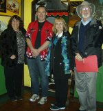 From L-R; Fran, Michael, Annie, and Garth